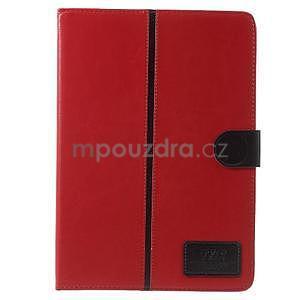 Flatense štýlové puzdro pre Samsung Galaxy Tab S2 9.7 - červené - 2