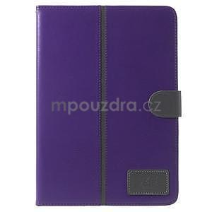 Flatense štýlové puzdro pre Samsung Galaxy Tab S2 9.7 - fialové - 2