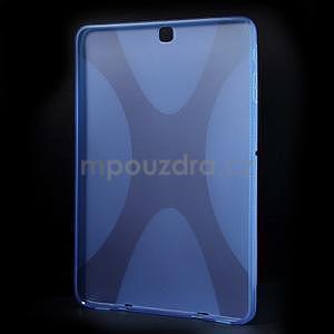 X-line gélový kryt pre Samsung Galaxy Tab S2 9.7 - modrý - 2