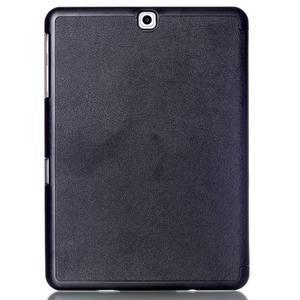 Trifold polohovateľné púzdro pre Samsung Galaxy Tab S2 9.7 - čierne - 2