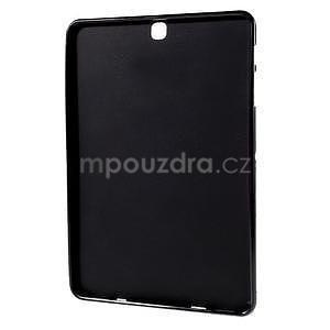 Glossy gélový obal na Samsung Galaxy Tab S2 9.7 - čierny - 2