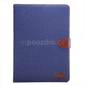 Jeans puzdro na tablet Samsung Galaxy Tab S2 9.7 - tmavomodré - 2