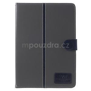 Flatense štýlové puzdro pre Samsung Galaxy Tab S2 9.7 - šedé - 2