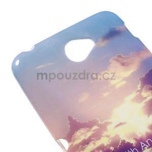 Gelový obal na Sony Xperia E4 - vycházející slunce - 2