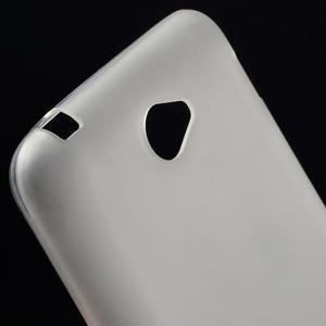 Gélový jednofarebný obal pre Sony Xperia E4 - transparentné - 2