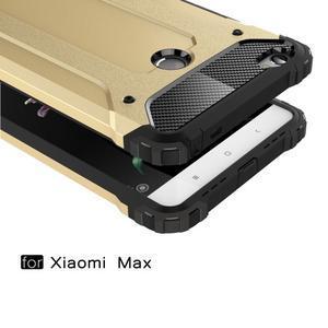 Guard odolný obal pre mobil Xiaomi Mi Max - strieborny - 2