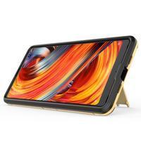 Defender odolný obal so stojančekom na Xiaomi Mi Mix 2 - modrý - 2/3