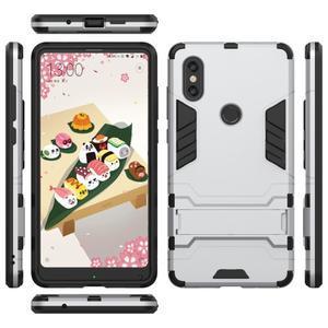 Guard odolný hybridný obal na mobil Xiaomi Mi Mix 2s - strieborný - 2