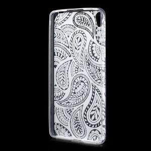 Ultratenký gélový obal pre Sony Xperia E5 - krajky II - 2