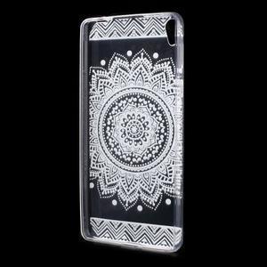Ultratenký gélový obal pre Sony Xperia E5 - mandala III - 2