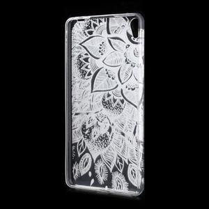 Ultratenký gélový obal na Sony Xperia E5 - lístky - 2