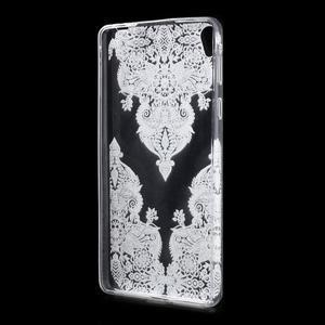 Ultratenký gélový obal na Sony Xperia E5 - krajky III - 2
