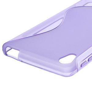 S-line gélový obal na mobil Sony Xperia E5 - fialový - 2