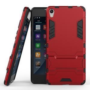 Outdoor odolný obal pre mobil Sony Xperia E5 - červený - 2