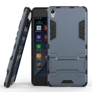 Outdoor odolný obal na mobil Sony Xperia E5 - šedomodrý - 2