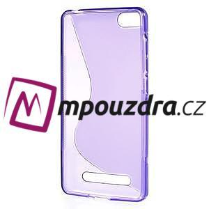 S-line gélový obal pre mobil Xiaomi Mi4c/Mi4i - fialový - 2