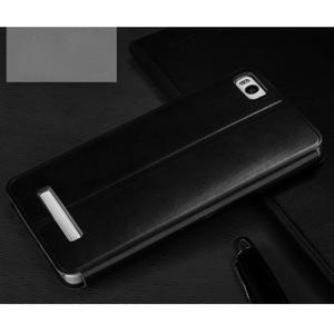 Vintage PU kožené pouzdro na mobil Xiaomi Mi4c - černé - 2