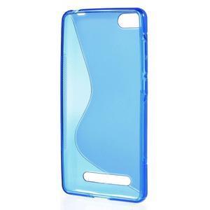 S-line gelový obal na mobil Xiaomi Mi4c/Mi4i - modrý - 2