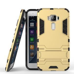 Odolný obal pre mobil Asus Zenfone 3 ZE520KL - zlatý - 2