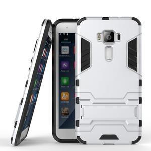 Odolný obal pre mobil Asus Zenfone 3 ZE520KL - strieborný - 2