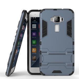 Odolný obal na mobil Asus Zenfone 3 ZE520KL - šedomodrý - 2