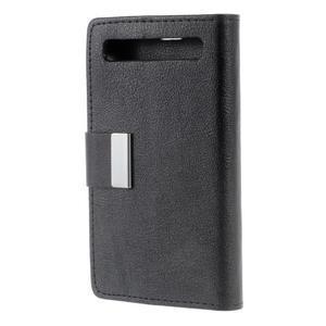 Peňaženkové puzdro pre mobil BlackBerry Classic - čierné - 2