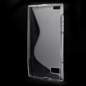 S-line gélový obal pre mobil BlackBerry Leap - transparentný - 2