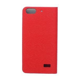Peněženkové pouzdro na mobil Honor 4C - červené - 2