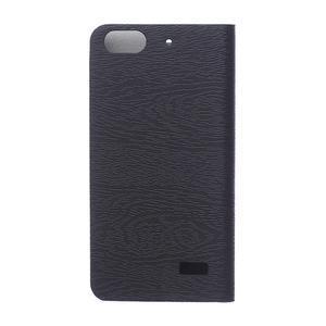 Peněženkové pouzdro na mobil Honor 4C - černé - 2