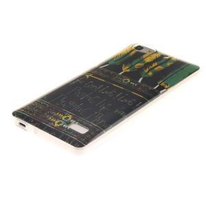 Gélový obal pre mobil Honor 4C - pierka - 2