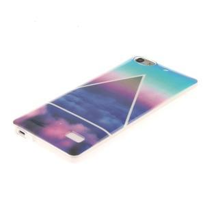 Gélový obal pre mobil Honor 4C - triangl - 2