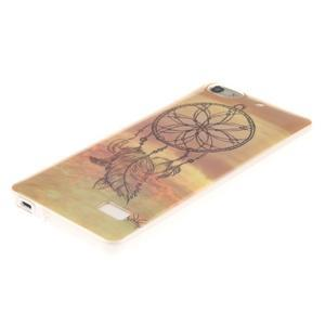 Gelový obal na mobil Honor 4C - lapač snů - 2