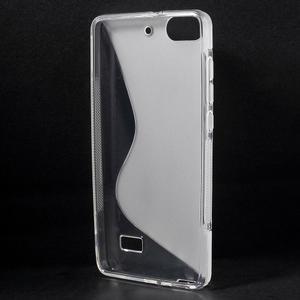S-line gelový obal na mobil Honor 4C - transparentní - 2