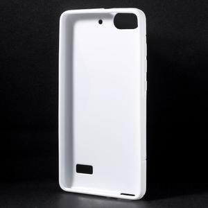 S-line gélový obal pre mobil Honor 4C - biely - 2