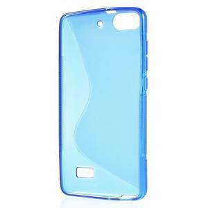 S-line gelový obal na mobil Honor 4C - modrý - 2