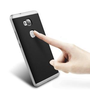 Odolný kryt pre mobil Honor 5X - strieborny - 2