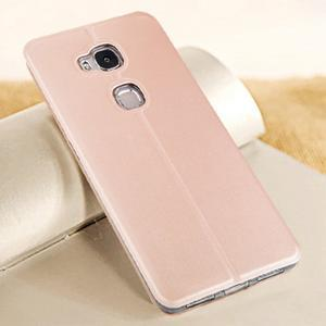 Vintage puzdro pre mobil Honor 5X - rose gold - 2