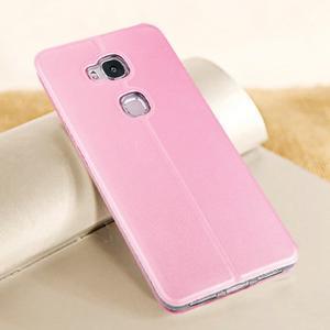 Vintage pouzdro na mobil Honor 5X - růžové - 2