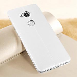 Vintage pouzdro na mobil Honor 5X - bílé - 2
