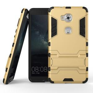 Outdoor odolný kryt pre mobil Honor 5X - zlatý - 2