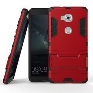 Outdoor odolný kryt pre mobil Honor 5X - červený - 2