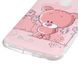 Fony gélový obal pre mobil LG K10 - medvedík - 2
