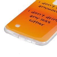Fony gélový obal pre mobil LG K10 - drink - 2/4