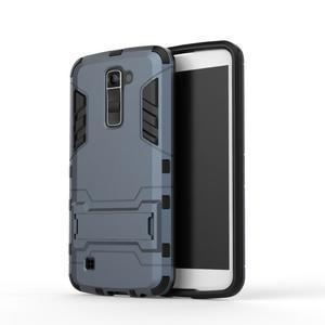 Odolný kryt pre mobil LG K10 - tmavomodrý - 2
