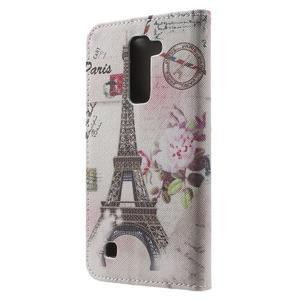 Wall peňaženkové puzdro pre LG K10 - Eiffelova veža - 2