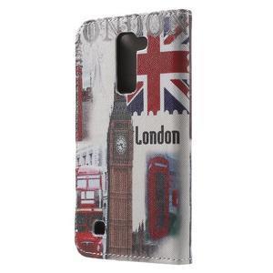 Wall peňaženkové puzdro pre LG K10 - Big Ben - 2