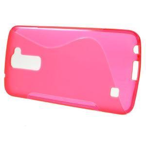 S-line gélový obal pre mobil LG K10 - rose - 2