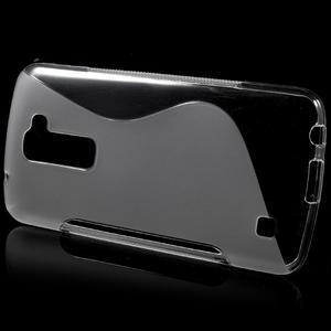 S-line gélový obal pre mobil LG K10 - transparentný - 2
