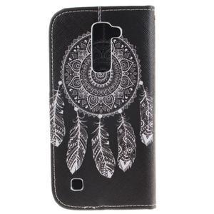 Peňaženkové puzdro pre mobil LG K10 - lapač snov - 2