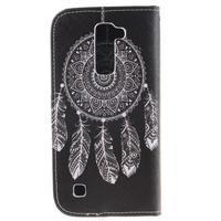Peňaženkové puzdro pre mobil LG K10 - lapač snov - 2/7